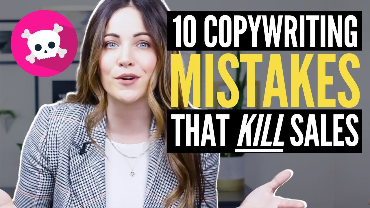 10 HUGE Copywriting Mistakes That Kill Sales Page Conversions