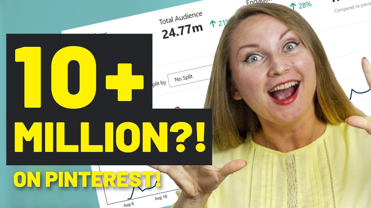 10 MILLION MONTHLY VIEWERS ON PINTEREST! How to Get More Monthly Viewers on Pinterest?
