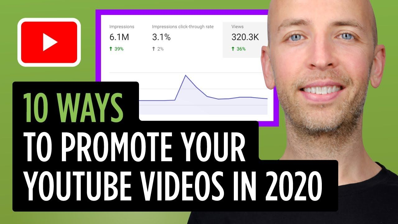 10 Ways to Promote Your YouTube Videos For MORE Views In 2020