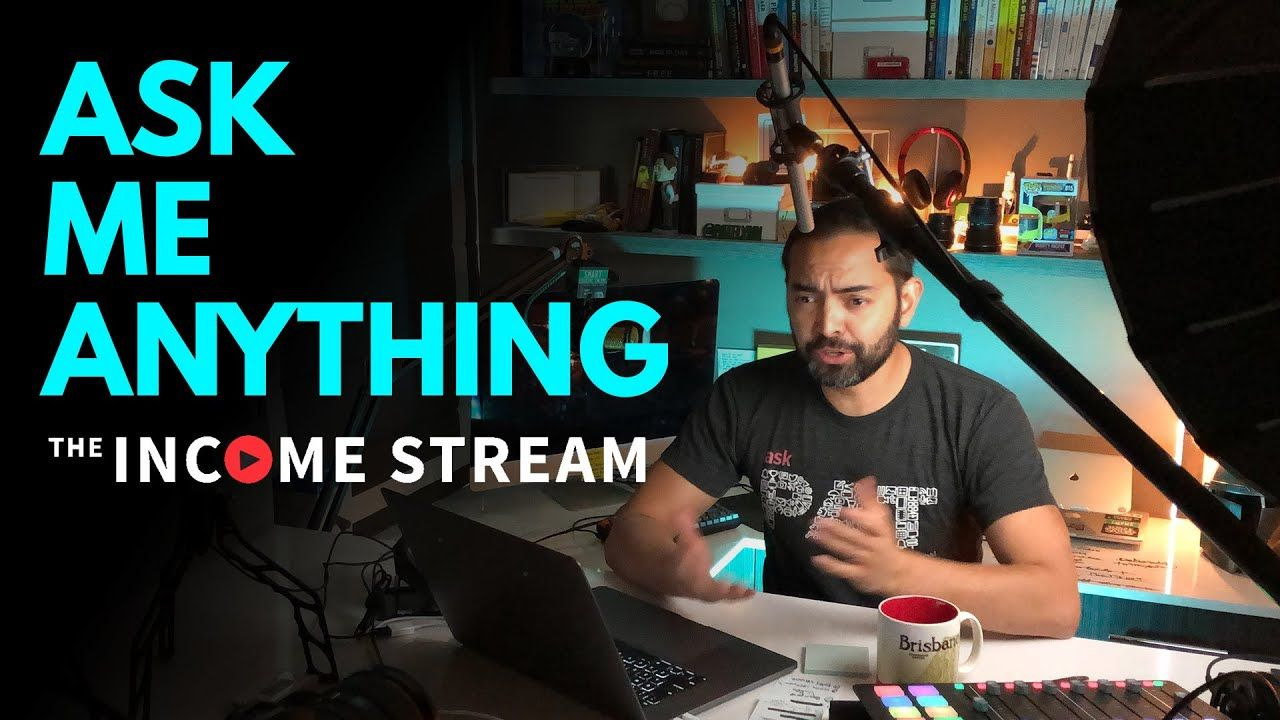 Ask Me Anything with Pat Flynn – The Income Stream – Day 228