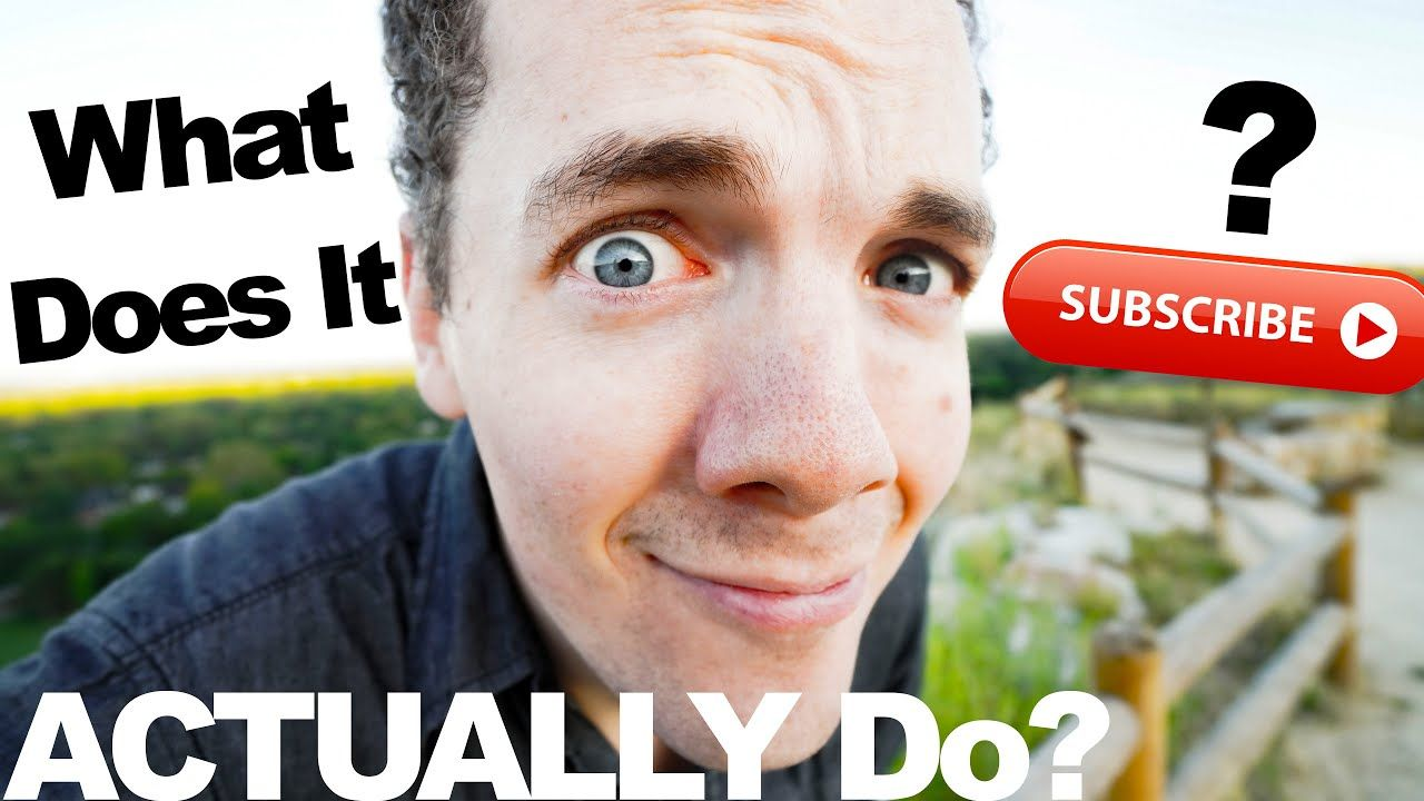 (A Satirical Take On) How the YouTube Subscribe Button Works