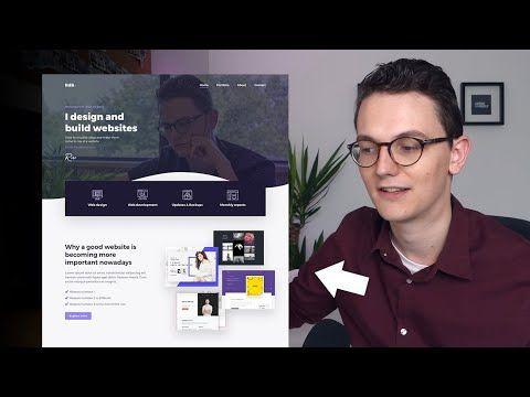 Adobe Xd to WordPress Part 1 – My new Adobe Xd Web Design Portfolio
