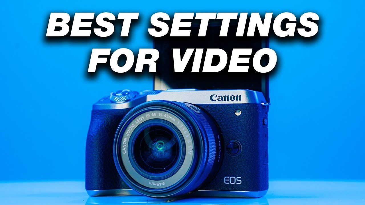BEST YouTube Video Settings For DSLR and Mirrorless Cameras! (Step by Step Guide)