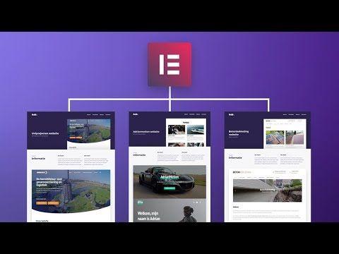 Building my portfolio Single Page in Elementor – Part 8 – Portfolio series