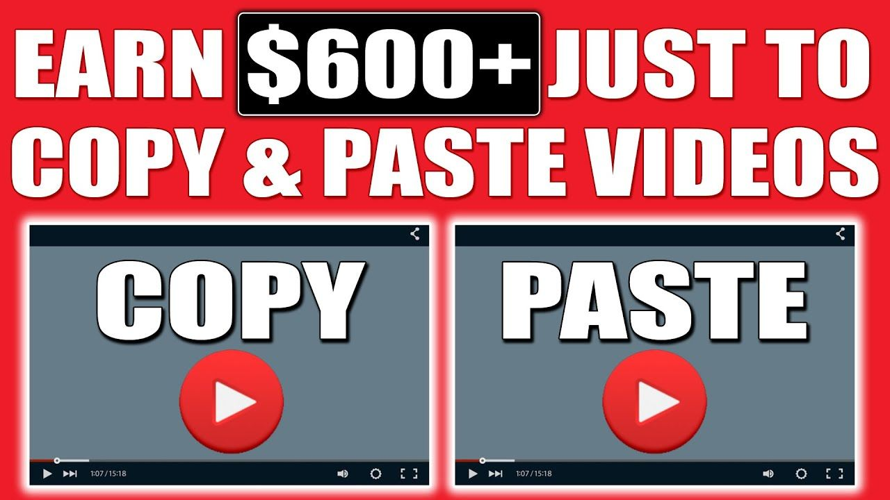 Copy & Paste Videos and Earn $500 to $1000 Per Day ~ FULL TUTORIAL (Make Money Online)