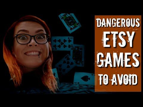 Dangerous Etsy Games that NO ONE should play – Common Etsy mistakes to avoid