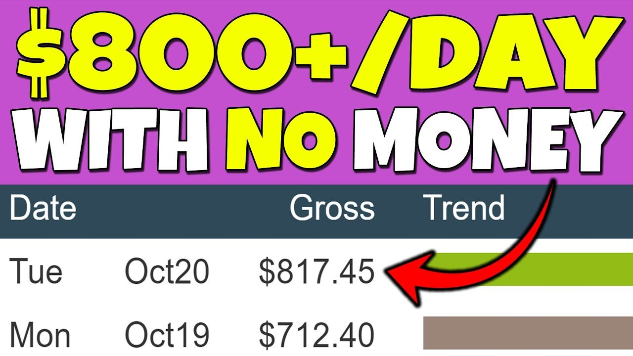 Earn $800/Day as a Broke Beginner & Make Money Online (New ClickBank Method)