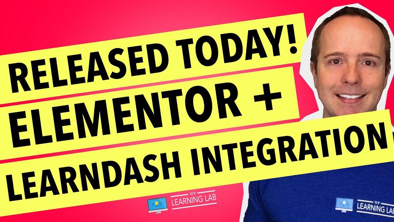 Elementor LearnDash Intergation Just Released