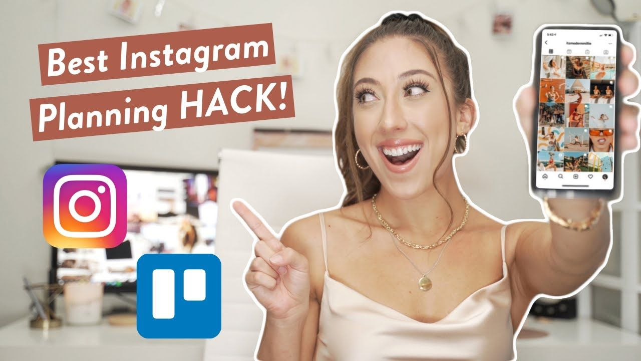 HOW TO CREATE AN INSTAGRAM CONTENT CALENDAR | Trello Series for Influencers and Bloggers