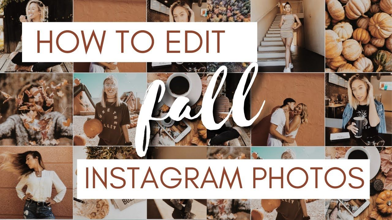 HOW TO EDIT YOUR INSTAGRAM FEED FOR FALL | 15 free presets using VSCO!