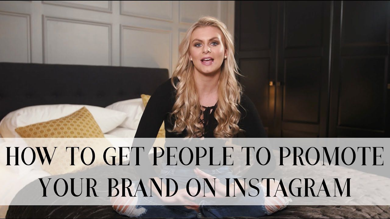 HOW TO GET PEOPLE TO PROMOTE YOUR BRAND ON INSTAGRAM FOR FREE | Natalie Elizabeth Diver