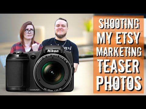 How I Photograph my Etsy Product Launch Marketing Teaser Photos