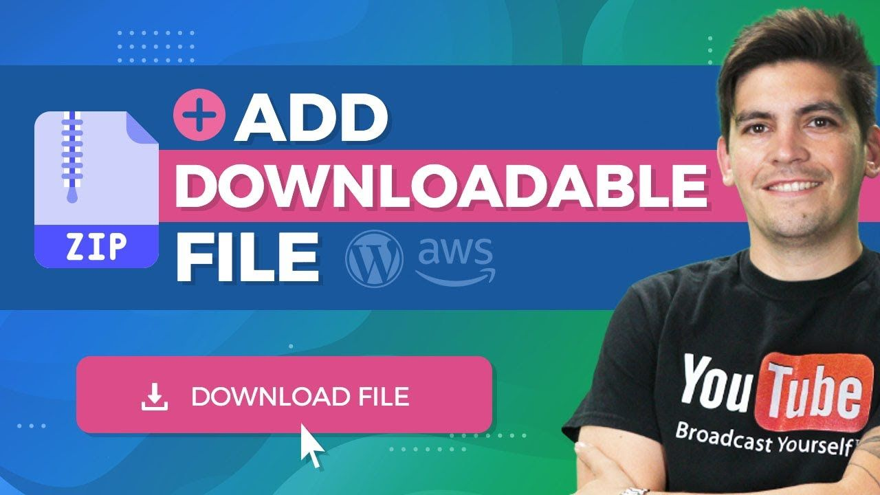How To Add A Downloadable File With WordPress and AmazonAWS (Direct Download Link)