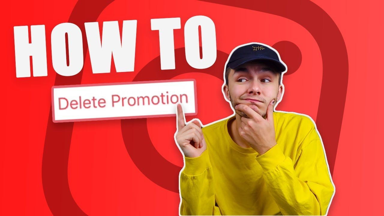How To Delete Instagram Promotion? – In Review & Active