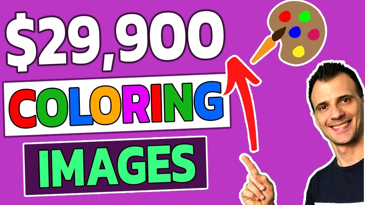 How To Make $29,900 Coloring Images Online (Make Money Online)