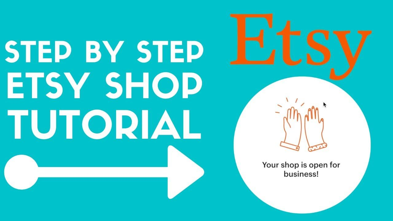 How To Start An Etsy Shop For Beginners 2020   Etsy Store Setup Tutorial