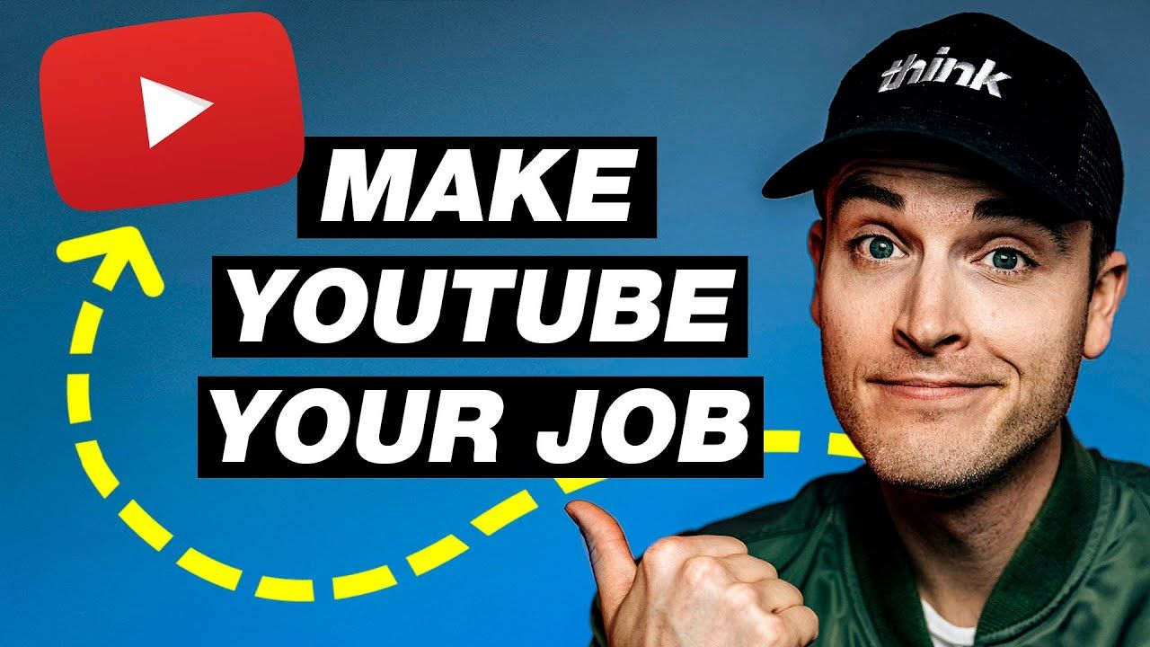 How to Go Full-Time on YouTube with a Small Channel (Earn $25,000 to $100,000+ Per Year)