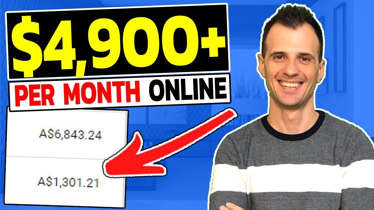 How to MAKE MONEY Online in 2020 (PASSIVE $4,900+ a month)