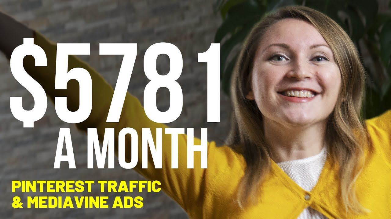 How to Make Money Blogging on Pinterest – I Made $5,781 Last Month with Mediavine Ads on My Blogs