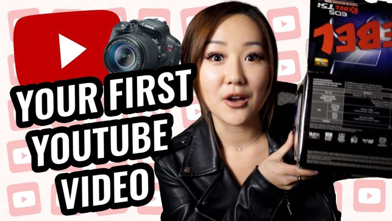 How to Prepare for your FIRST YouTube video ** GIVEAWAY CLOSED **