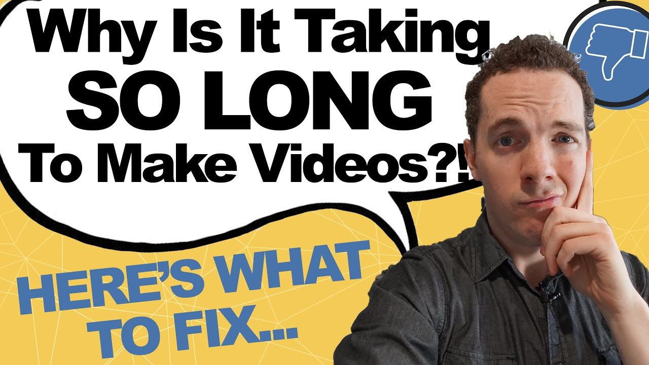 How to Produce YouTube Videos FASTER