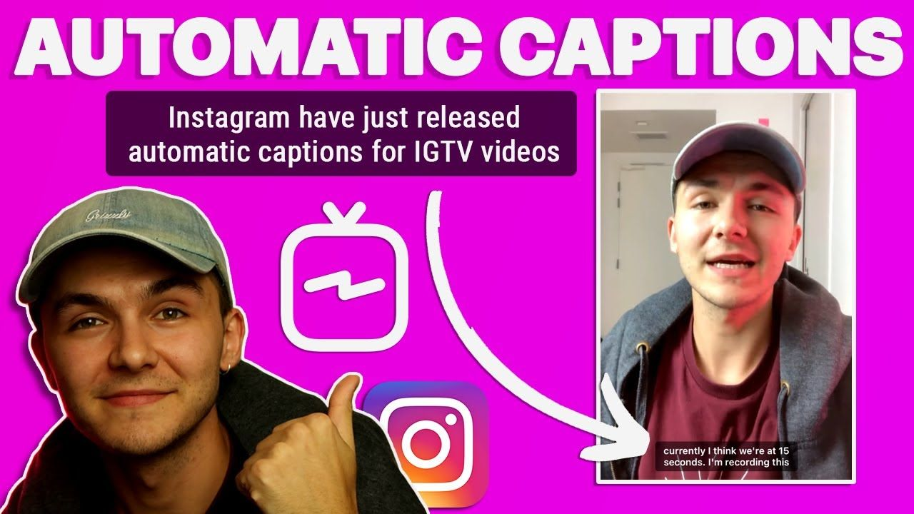 How to Turn On Automatic Captions For IGTV Videos on Instagram – New IGTV Update