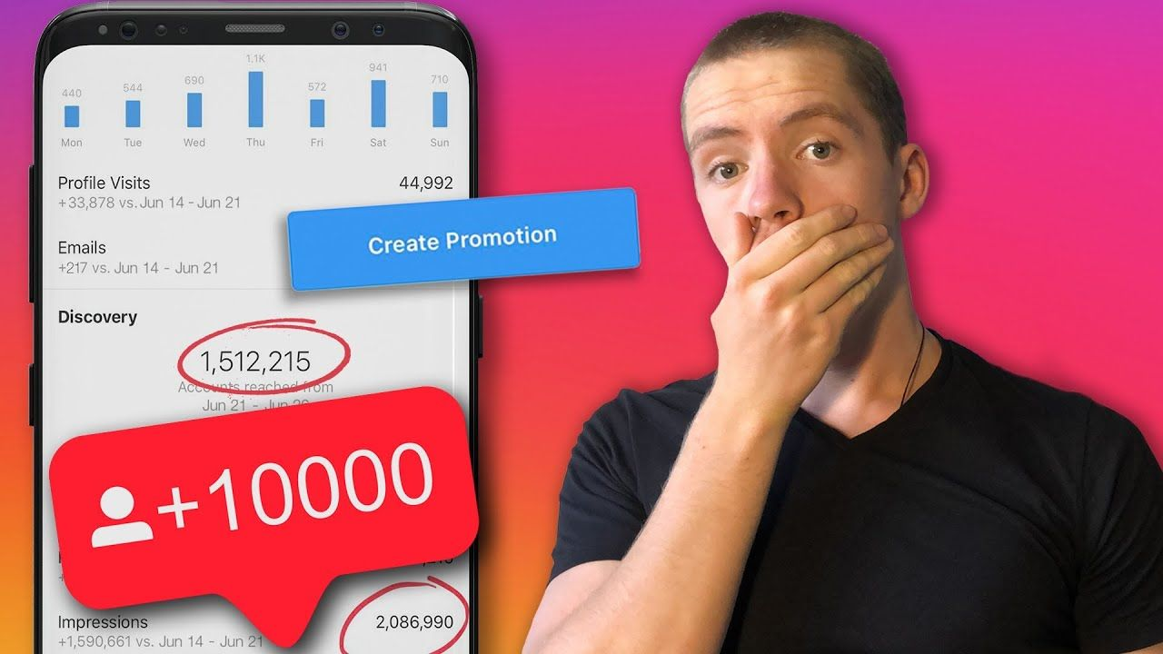 I Spent $100 On Facebook Ads To Grow My Instagram | How to grow your Instagram with facebook ads