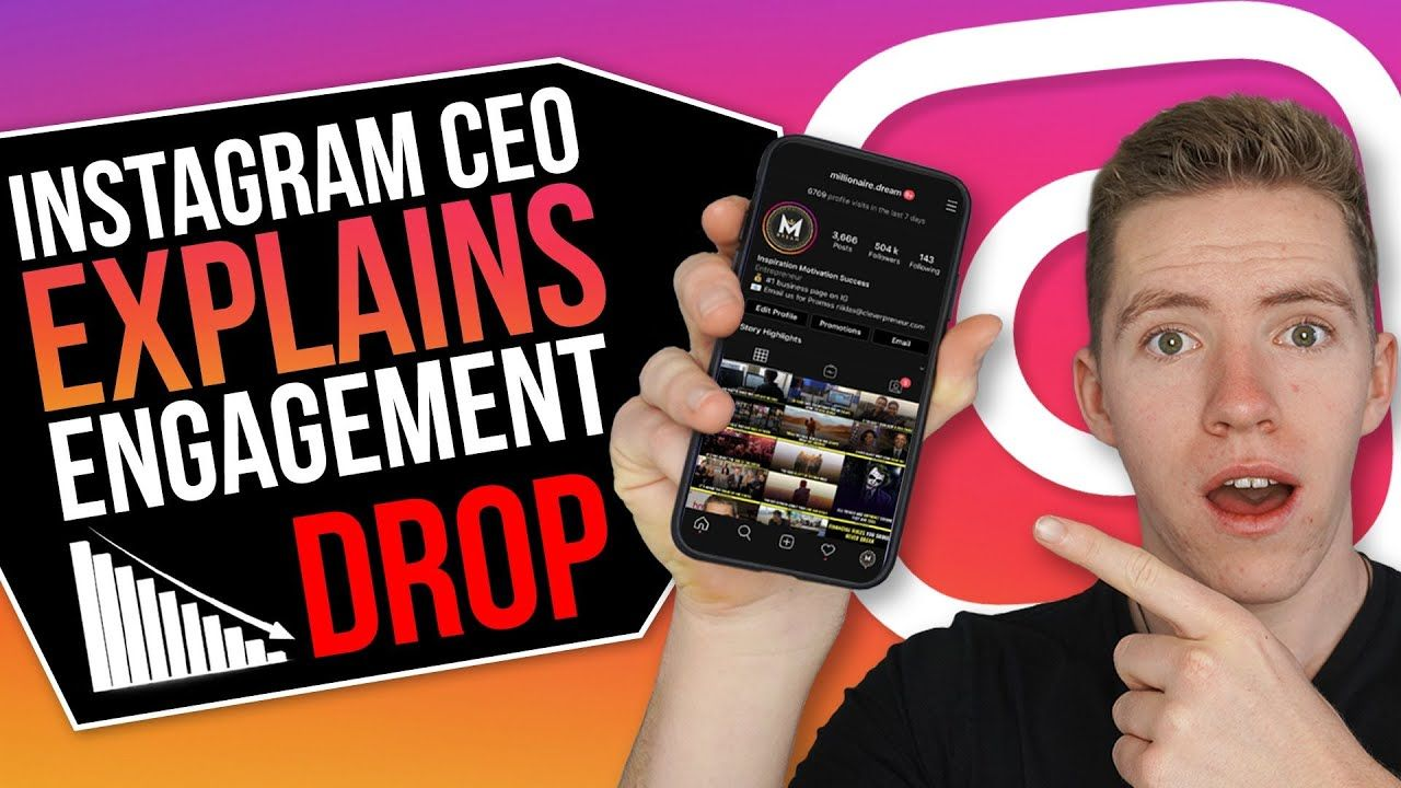 INSTAGRAM CEO EXPLAINS WHY YOUR REACH DROPPED AND HOW TO FIX IT