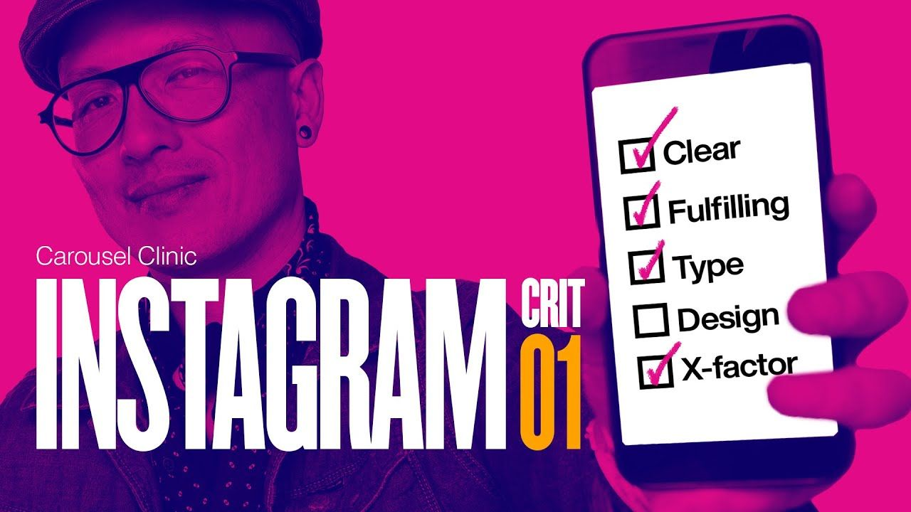 Instagram Design Critiques, Tips & Advice PT 1