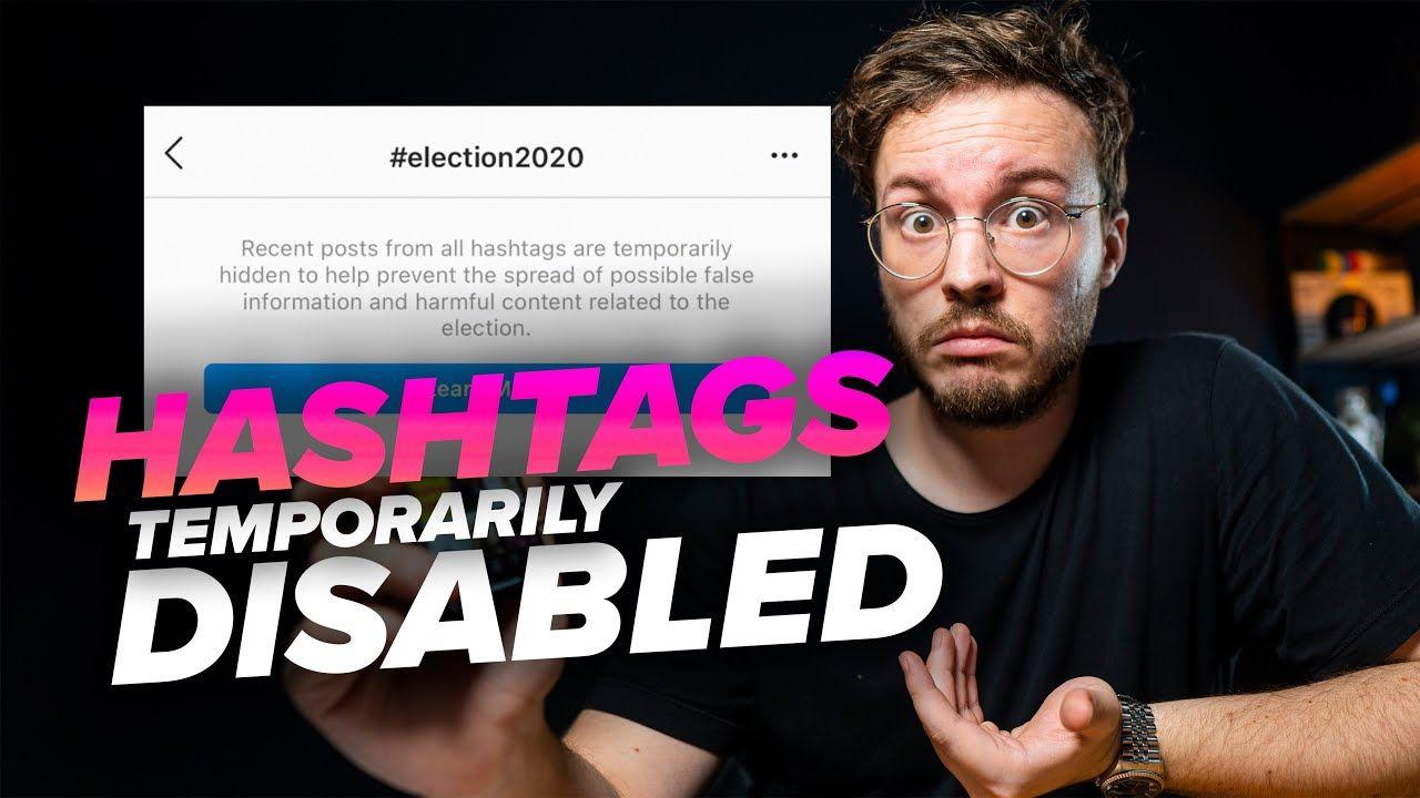 Instagram Removes Recent Hashtags (temporarily) | Instagram Update – November 2020.