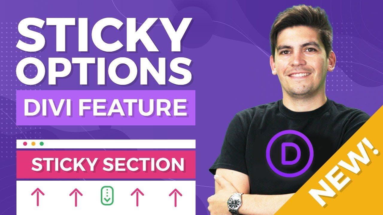 [MASSIVE] NEW DIVI Theme Sticky Options – Make Any Part Of Your WordPress Website Sticky!
