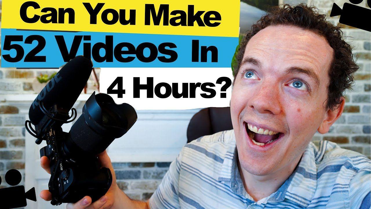 Making ZERO EDIT YouTube Videos