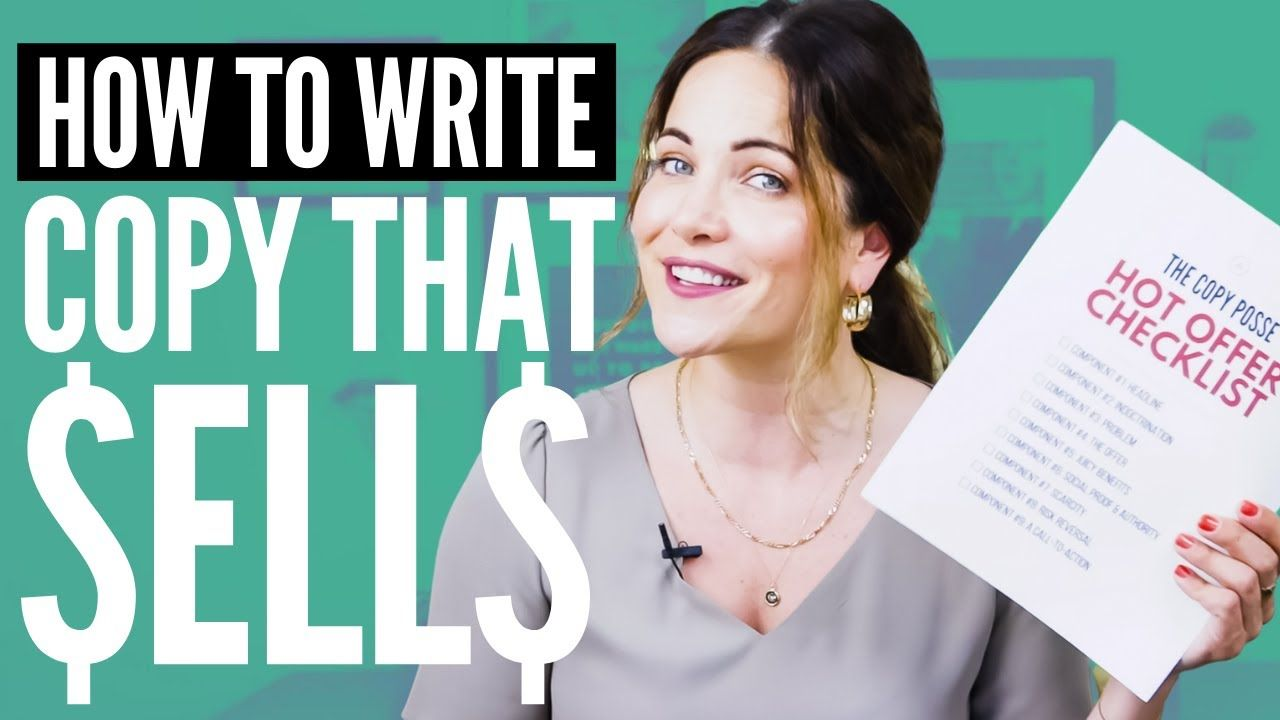 My PROVEN Copywriting Critique Checklist: How To Write Copy That Sells 🤑