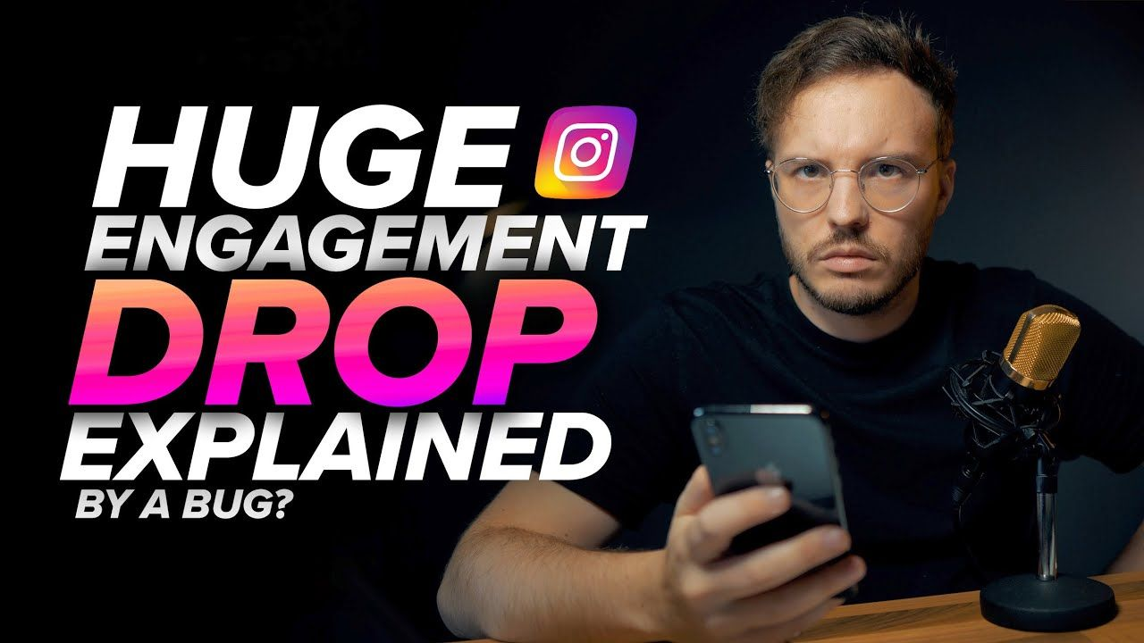 New Update About The HUGE Engagement Drop on Instagram