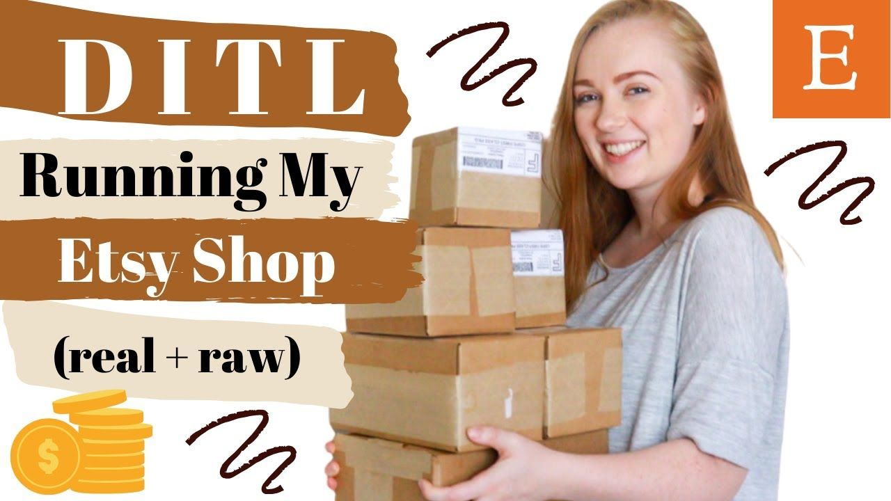REAL & RAW DITL of an Etsy Shop Owner // How We Run Our Small Handmade Business as New Etsy Sellers