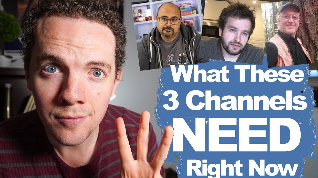 Reviewing 3 YouTube Channels at 500 Subscribers – Here's what needs to happen