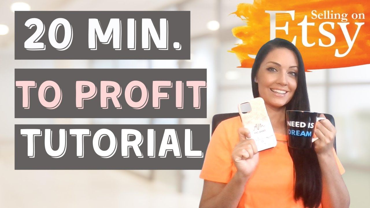 Selling on Etsy: Start A Print on Demand Business in 20 Minutes (Printify Tutorial)