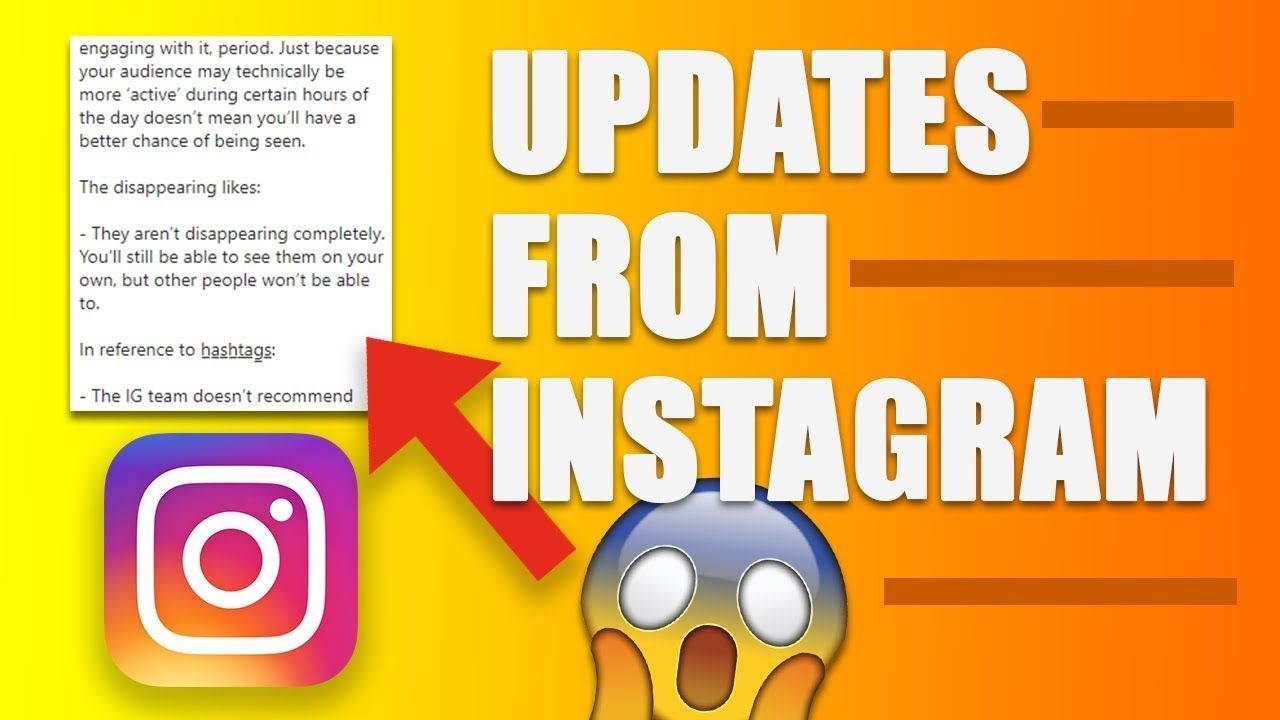 Updates from INSTAGRAM HQ – How Many Hashtags? Posting Times?