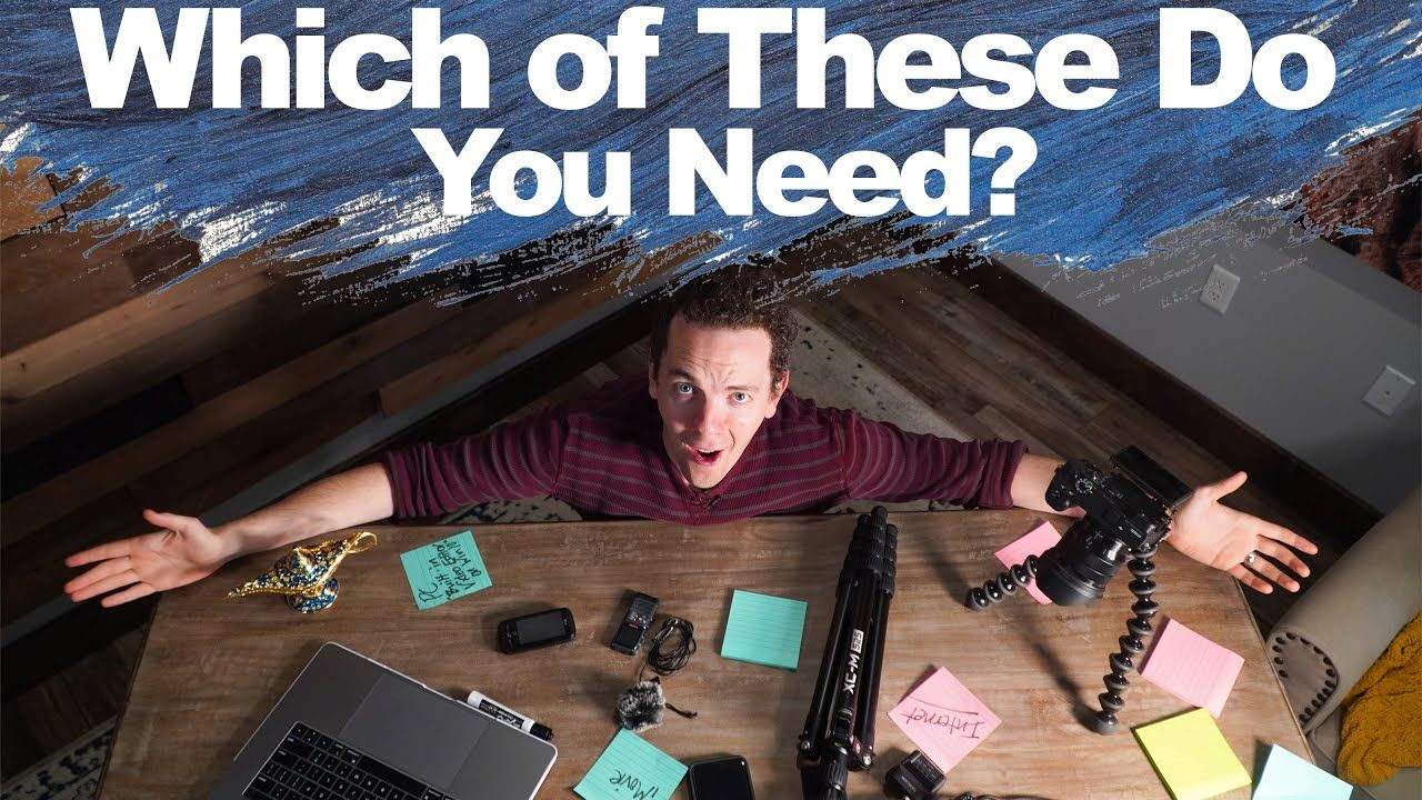 What Equipment Do You REALLY Need For YouTube?