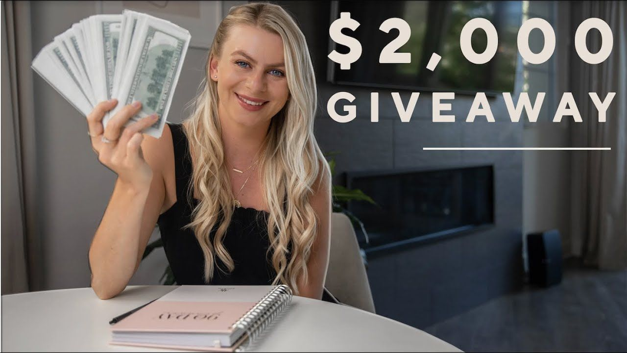 Why I'm starting on YouTube  + $2000 GIVEAWAY!