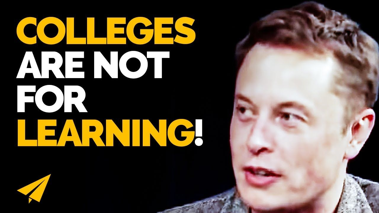 You Don't NEED a DEGREE to Be SUCCESSFUL! | Elon Musk | Top 10 Rules