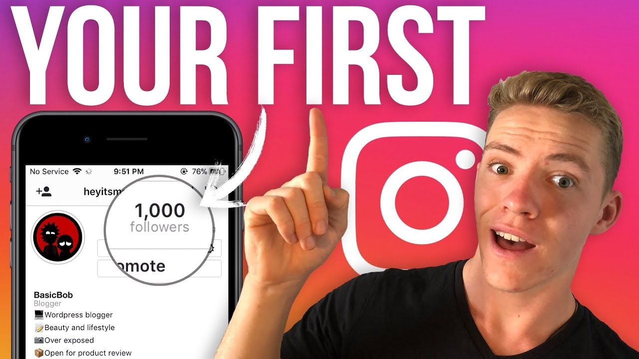Zero to 1,000 Followers On Instagram: How To Guide