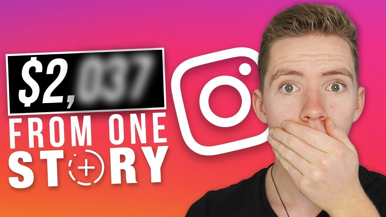 $2,037 From One Instagram Story | How To Make Money On Instagram With A Small Audience