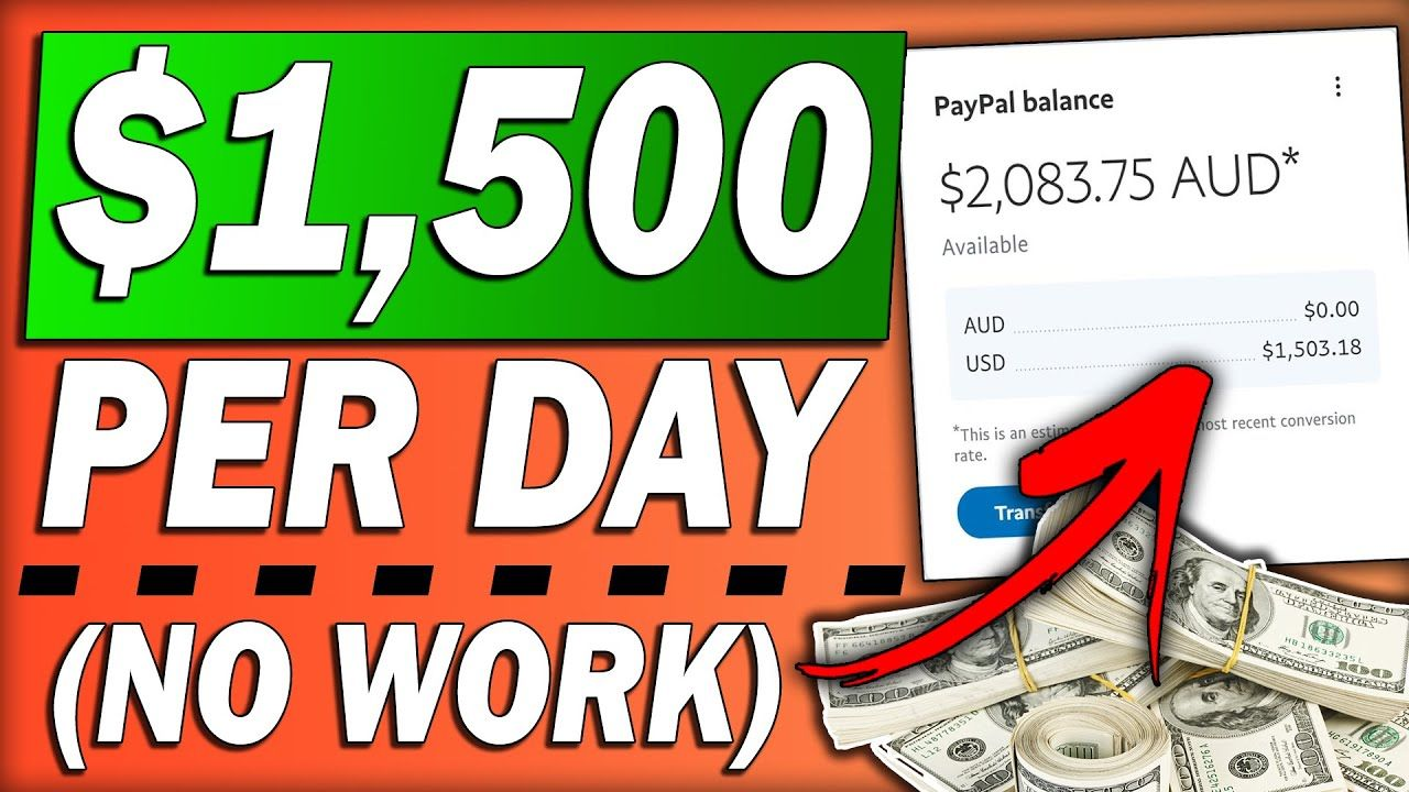 Get PAID $1,500 In One Day (NO WORK) Using a NEW FREE TOOL To Make Money Online