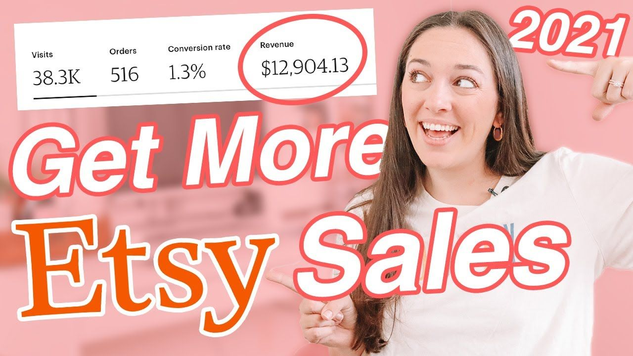 HOW TO GET MORE ETSY SALES IN 2021 and Grow Your Etsy Shop