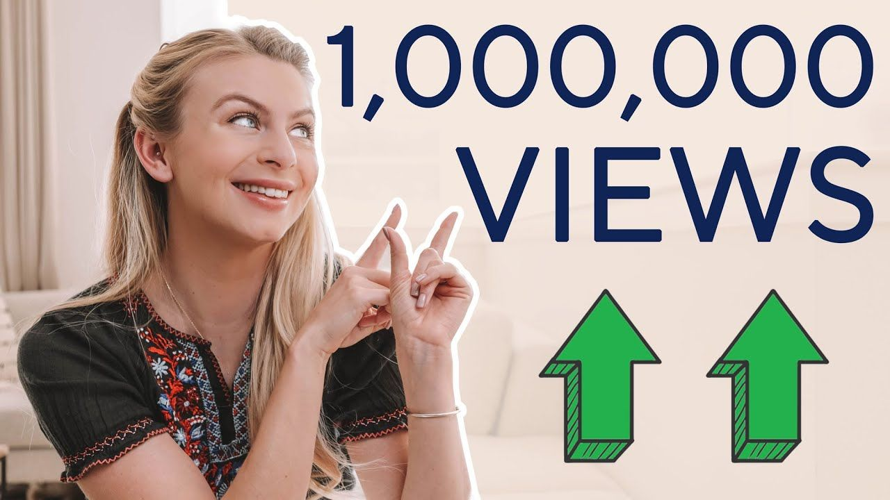 How I Hit 1 Million Views On Youtube In 5 Months!