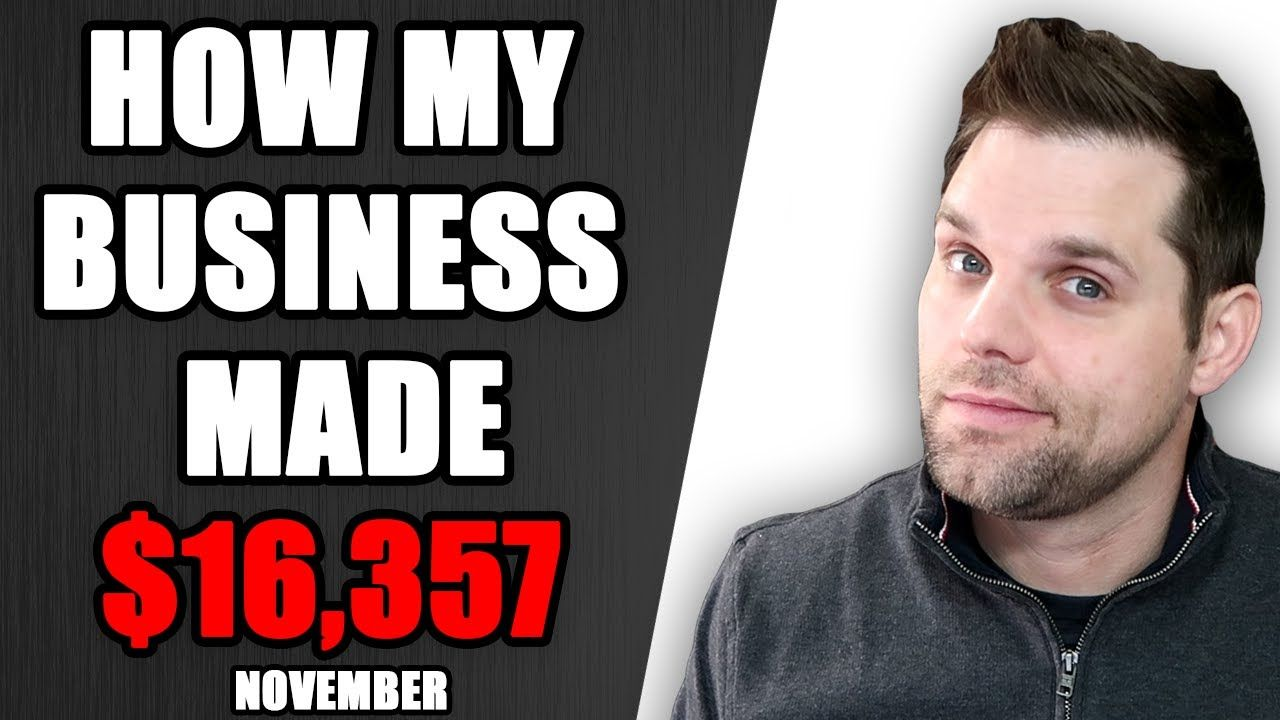 How my Business Made $16,357 in November 2020 – Income Report