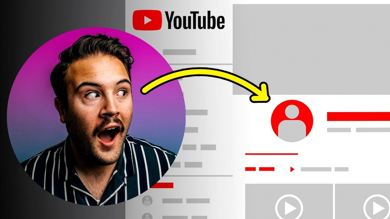 How to Change YouTube Profile Picture 2021 UPDATED (Desktop & Mobile)