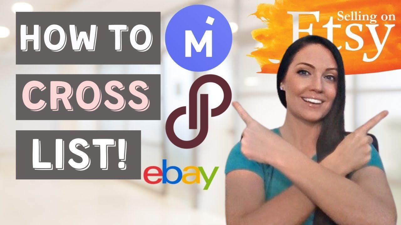 Selling On Etsy: How to Crosslist On Mercari, Poshmark & eBay FAST!