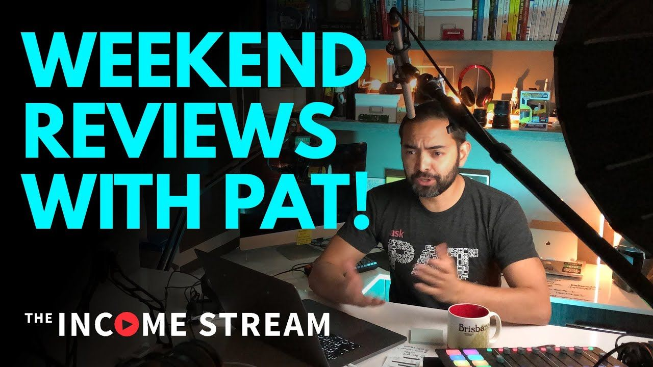 YouTube Channel & Website Critiques – The Income Stream with Pat Flynn – Day 321